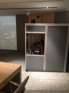 Cabina ISO Intérpretes